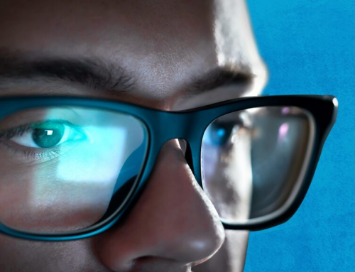 What is blue light and its relationship with digital eye strain?