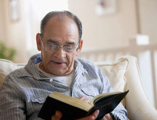 Why is reading books more difficult as you get older?